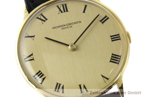 Used luxury watch Vacheron & Constantin * 18 ct gold manual winding Kal. 1014 Ref. 2013  | 151820 02