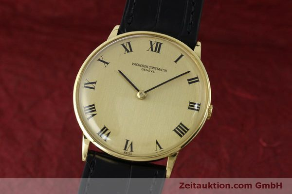 Used luxury watch Vacheron & Constantin * 18 ct gold manual winding Kal. 1014 Ref. 2013  | 151820 04