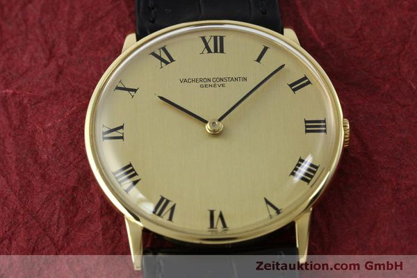 Used luxury watch Vacheron & Constantin * 18 ct gold manual winding Kal. 1014 Ref. 2013  | 151820 14