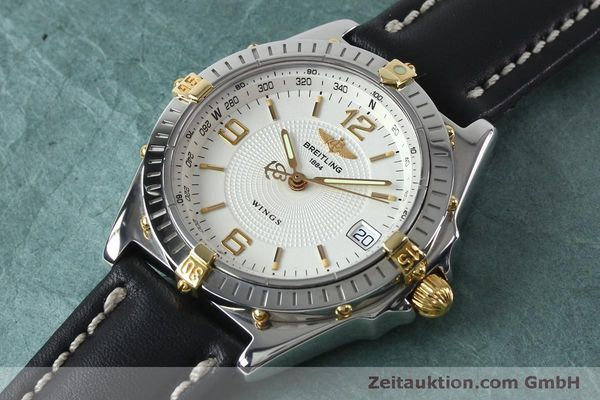 Used luxury watch Breitling Wings steel automatic Kal. B10 ETA 2892A2 Ref. B10050  | 151824 01