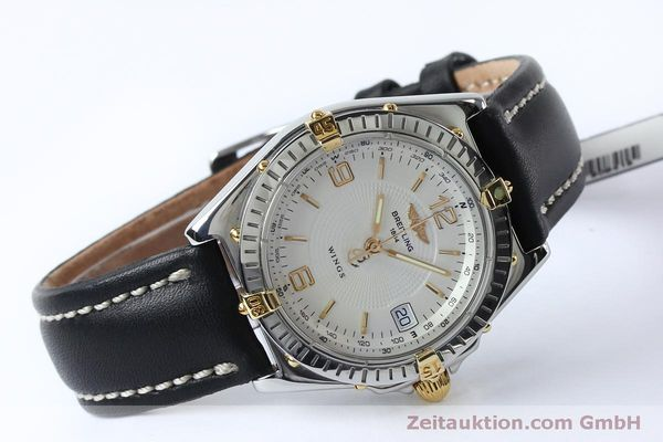 Used luxury watch Breitling Wings steel automatic Kal. B10 ETA 2892A2 Ref. B10050  | 151824 03
