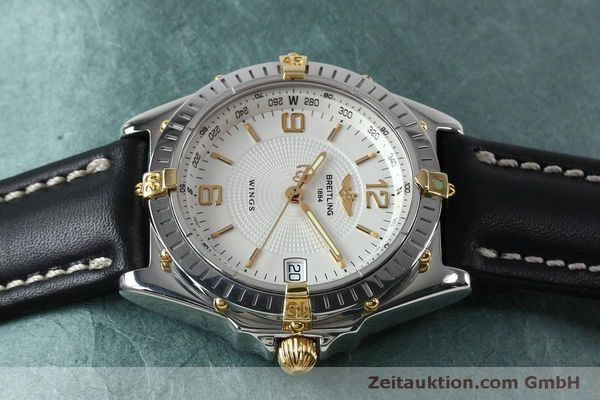 Used luxury watch Breitling Wings steel automatic Kal. B10 ETA 2892A2 Ref. B10050  | 151824 05