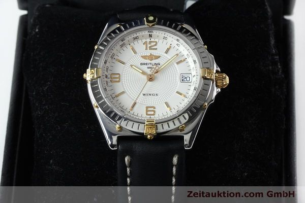 Used luxury watch Breitling Wings steel automatic Kal. B10 ETA 2892A2 Ref. B10050  | 151824 07