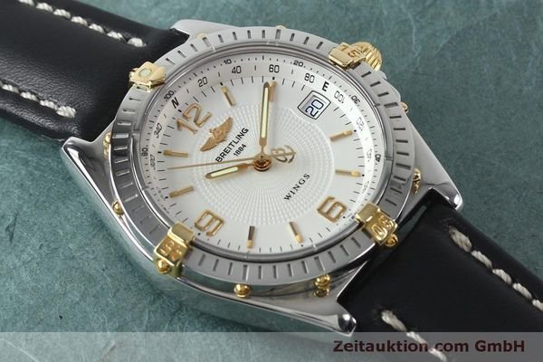 Used luxury watch Breitling Wings steel automatic Kal. B10 ETA 2892A2 Ref. B10050  | 151824 13