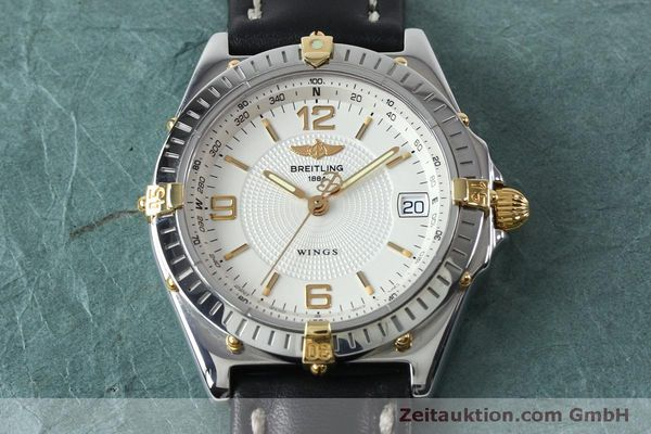 Used luxury watch Breitling Wings steel automatic Kal. B10 ETA 2892A2 Ref. B10050  | 151824 14