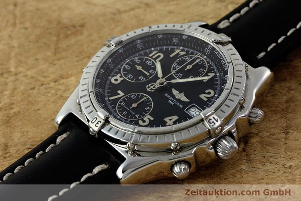 Used luxury watch Breitling Chronomat chronograph steel automatic Kal. B13 ETA 7750 Ref. A13050.1  | 151826 01