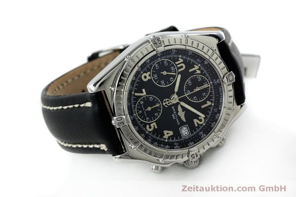 Used luxury watch Breitling Chronomat chronograph steel automatic Kal. B13 ETA 7750 Ref. A13050.1  | 151826 03