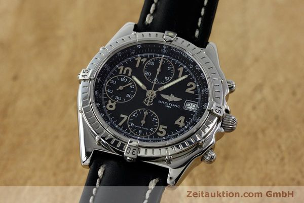 Used luxury watch Breitling Chronomat chronograph steel automatic Kal. B13 ETA 7750 Ref. A13050.1  | 151826 04