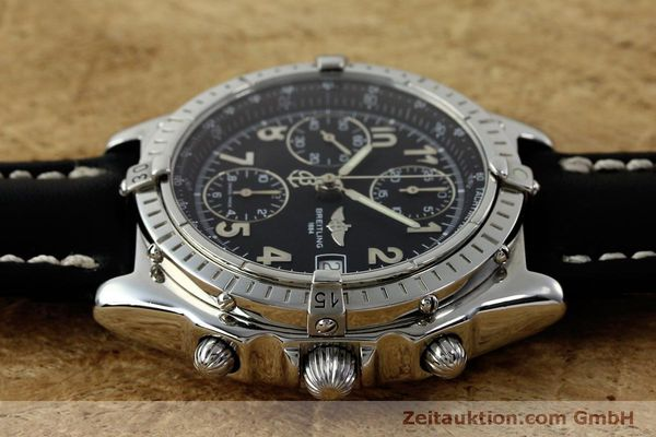 Used luxury watch Breitling Chronomat chronograph steel automatic Kal. B13 ETA 7750 Ref. A13050.1  | 151826 05