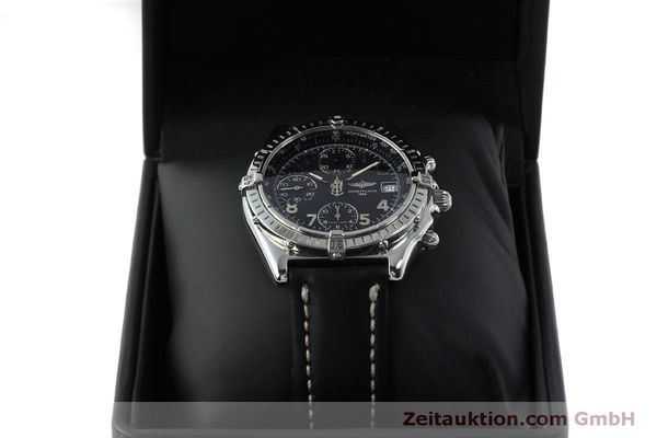 Used luxury watch Breitling Chronomat chronograph steel automatic Kal. B13 ETA 7750 Ref. A13050.1  | 151826 07