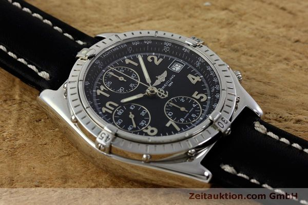 Used luxury watch Breitling Chronomat chronograph steel automatic Kal. B13 ETA 7750 Ref. A13050.1  | 151826 15