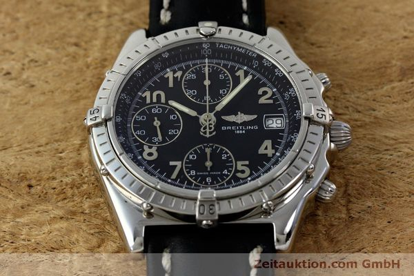 Used luxury watch Breitling Chronomat chronograph steel automatic Kal. B13 ETA 7750 Ref. A13050.1  | 151826 16
