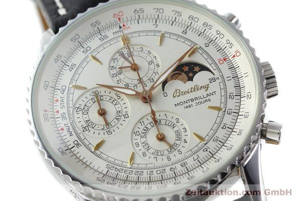 Used luxury watch Breitling Montbrillant chronograph steel automatic Kal. B19 ETA 2892A2 Ref. A19030  | 151828 02
