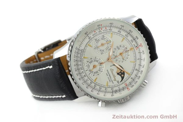 Used luxury watch Breitling Montbrillant chronograph steel automatic Kal. B19 ETA 2892A2 Ref. A19030  | 151828 03