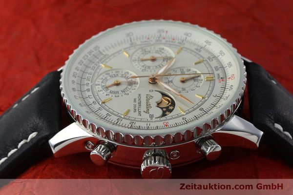 Used luxury watch Breitling Montbrillant chronograph steel automatic Kal. B19 ETA 2892A2 Ref. A19030  | 151828 05