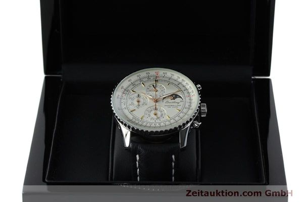 Used luxury watch Breitling Montbrillant chronograph steel automatic Kal. B19 ETA 2892A2 Ref. A19030  | 151828 07