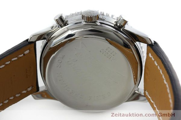 Used luxury watch Breitling Montbrillant chronograph steel automatic Kal. B19 ETA 2892A2 Ref. A19030  | 151828 09