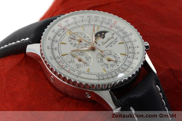 Used luxury watch Breitling Montbrillant chronograph steel automatic Kal. B19 ETA 2892A2 Ref. A19030  | 151828 12