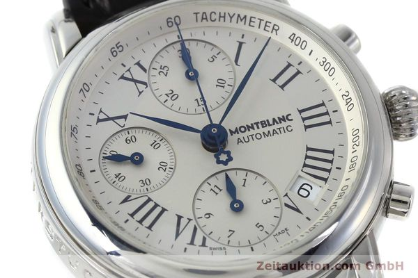 Used luxury watch Montblanc Star 4810 Chronograph chronograph steel automatic Kal. 4810501 Ref. 7016  | 151831 02