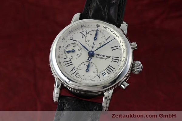 Used luxury watch Montblanc Star 4810 Chronograph chronograph steel automatic Kal. 4810501 Ref. 7016  | 151831 04