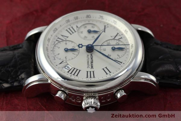 Used luxury watch Montblanc Star 4810 Chronograph chronograph steel automatic Kal. 4810501 Ref. 7016  | 151831 05