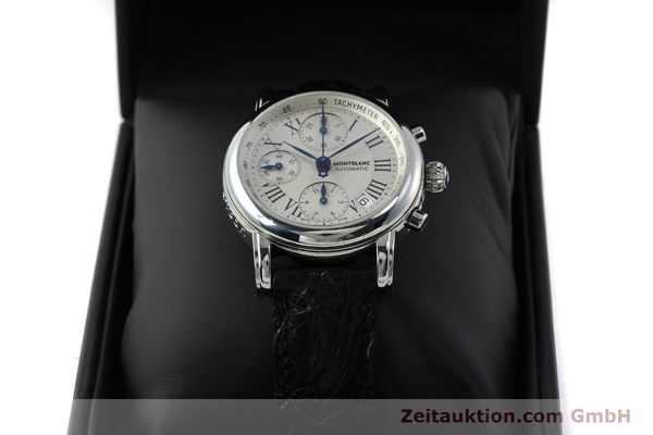 Used luxury watch Montblanc Star 4810 Chronograph chronograph steel automatic Kal. 4810501 Ref. 7016  | 151831 07