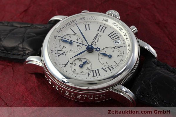 Used luxury watch Montblanc Star 4810 Chronograph chronograph steel automatic Kal. 4810501 Ref. 7016  | 151831 12