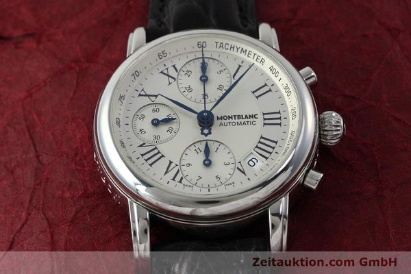 Used luxury watch Montblanc Star 4810 Chronograph chronograph steel automatic Kal. 4810501 Ref. 7016  | 151831 13