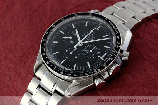 Used luxury watch Omega Speedmaster chronograph steel manual winding Kal. 1861 Ref. 145.0223  | 151832 01