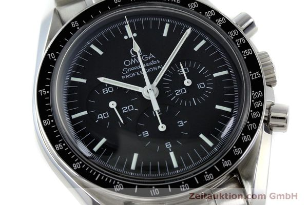 Used luxury watch Omega Speedmaster chronograph steel manual winding Kal. 1861 Ref. 145.0223  | 151832 02