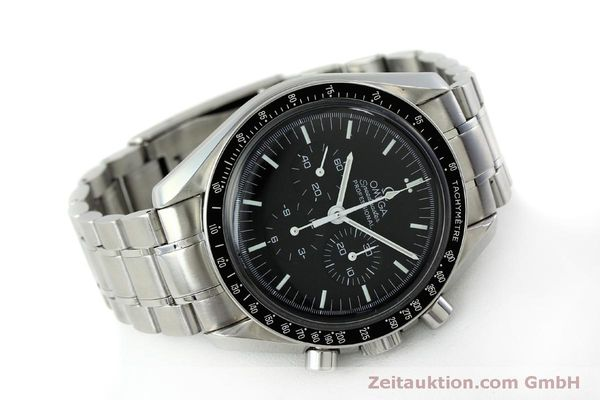 Used luxury watch Omega Speedmaster chronograph steel manual winding Kal. 1861 Ref. 145.0223  | 151832 03
