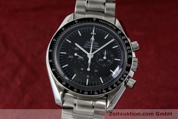Used luxury watch Omega Speedmaster chronograph steel manual winding Kal. 1861 Ref. 145.0223  | 151832 04