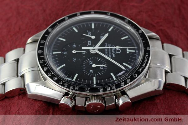 Used luxury watch Omega Speedmaster chronograph steel manual winding Kal. 1861 Ref. 145.0223  | 151832 05