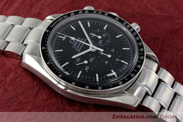 Used luxury watch Omega Speedmaster chronograph steel manual winding Kal. 1861 Ref. 145.0223  | 151832 16