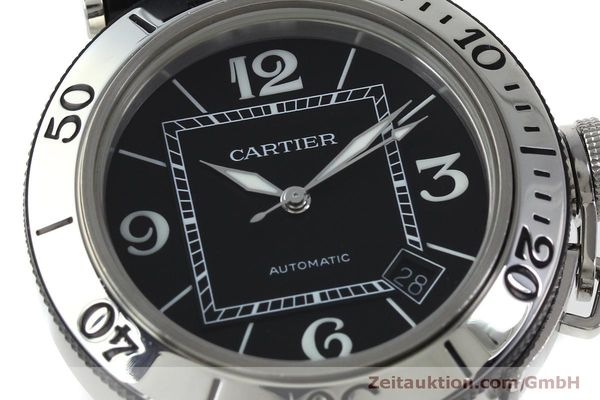 Used luxury watch Cartier Pasha steel automatic Kal. 049 ETA 2892A2 Ref. 2790  | 151841 02