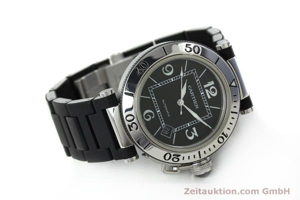 Used luxury watch Cartier Pasha steel automatic Kal. 049 ETA 2892A2 Ref. 2790  | 151841 03