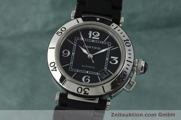 Used luxury watch Cartier Pasha steel automatic Kal. 049 ETA 2892A2 Ref. 2790  | 151841 04