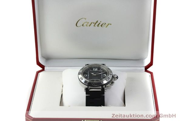 Used luxury watch Cartier Pasha steel automatic Kal. 049 ETA 2892A2 Ref. 2790  | 151841 07