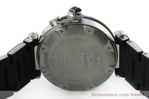 Used luxury watch Cartier Pasha steel automatic Kal. 049 ETA 2892A2 Ref. 2790  | 151841 09