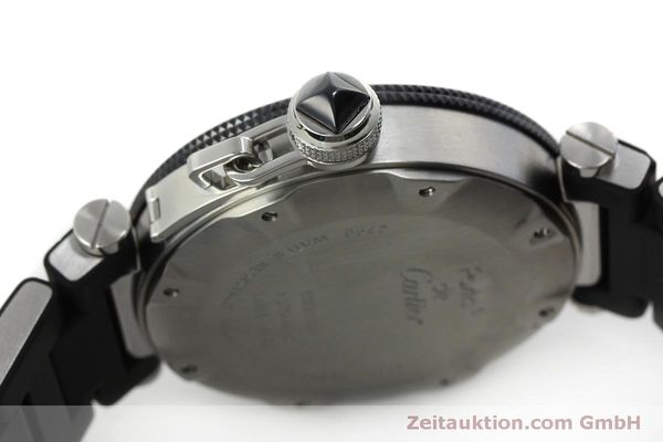 Used luxury watch Cartier Pasha steel automatic Kal. 049 ETA 2892A2 Ref. 2790  | 151841 11