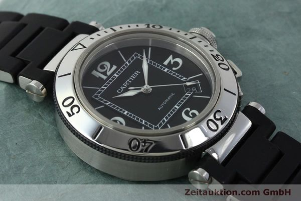 Used luxury watch Cartier Pasha steel automatic Kal. 049 ETA 2892A2 Ref. 2790  | 151841 15