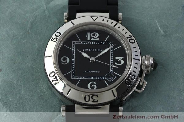 Used luxury watch Cartier Pasha steel automatic Kal. 049 ETA 2892A2 Ref. 2790  | 151841 16