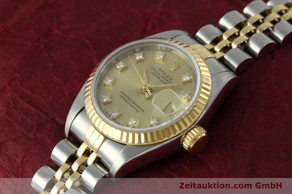montre de luxe d occasion Rolex Lady Datejust acier / or  automatique Kal. 2135 Ref. 69173  | 151844 01