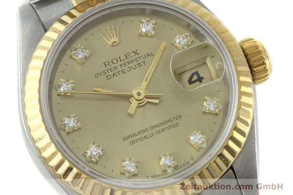 montre de luxe d occasion Rolex Lady Datejust acier / or  automatique Kal. 2135 Ref. 69173  | 151844 02