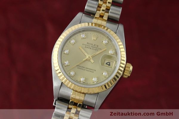montre de luxe d occasion Rolex Lady Datejust acier / or  automatique Kal. 2135 Ref. 69173  | 151844 04