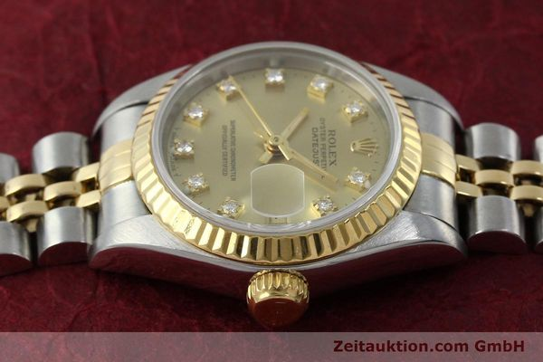 montre de luxe d occasion Rolex Lady Datejust acier / or  automatique Kal. 2135 Ref. 69173  | 151844 05
