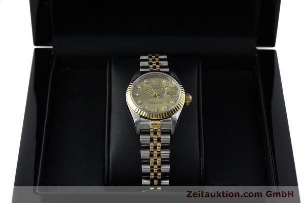 montre de luxe d occasion Rolex Lady Datejust acier / or  automatique Kal. 2135 Ref. 69173  | 151844 07