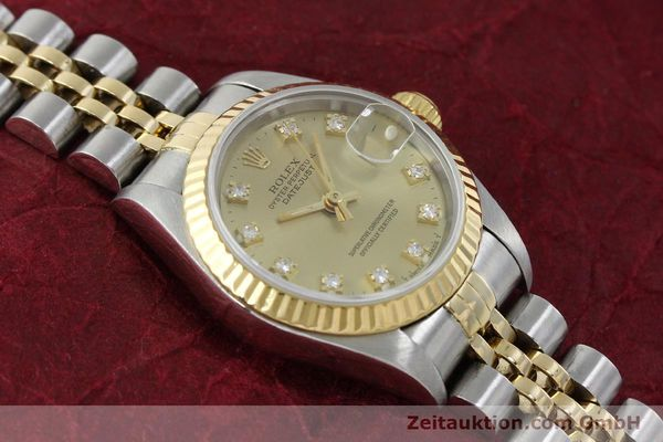 Used luxury watch Rolex Lady Datejust steel / gold automatic Kal. 2135 Ref. 69173  | 151844 15