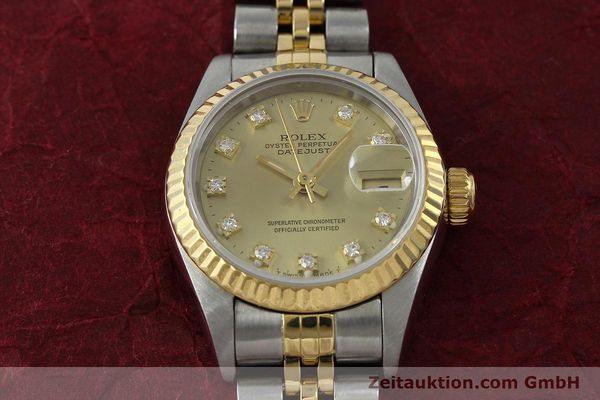 montre de luxe d occasion Rolex Lady Datejust acier / or  automatique Kal. 2135 Ref. 69173  | 151844 16
