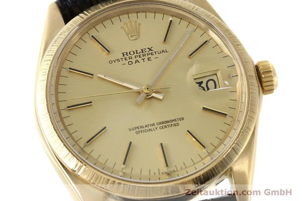 montre de luxe d occasion Rolex Date or 18 ct automatique Kal. 1570 Ref. 1511  | 151845 02